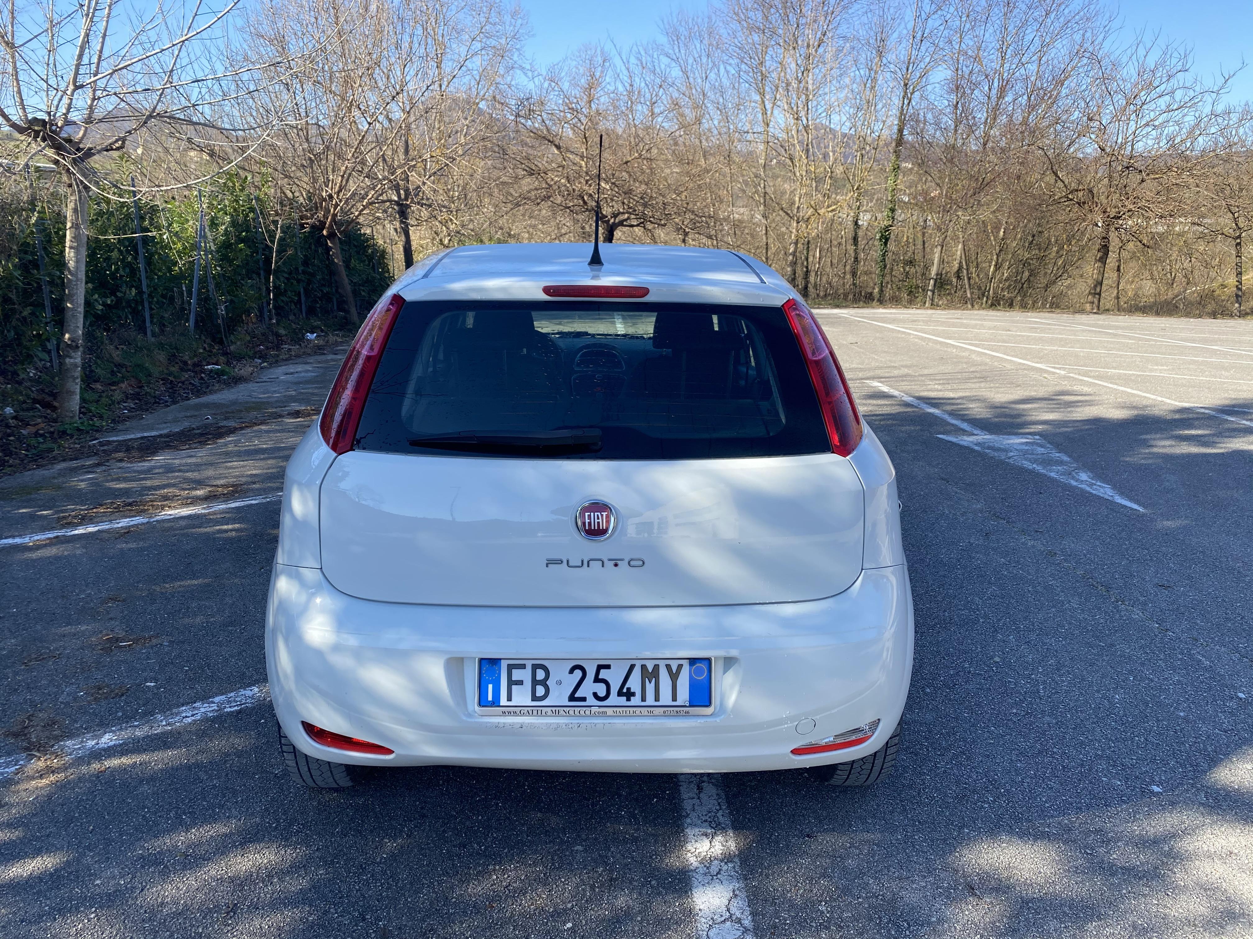 Fiat Punto Evo 1 4 Metano